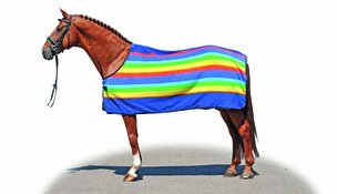 Fleecetäcke Rainbow stl 75cm-125cm