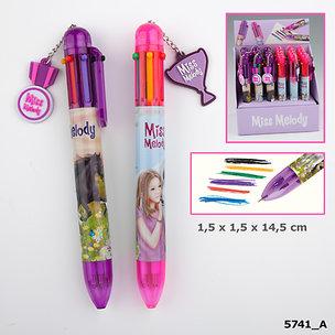 Penna i flera färger